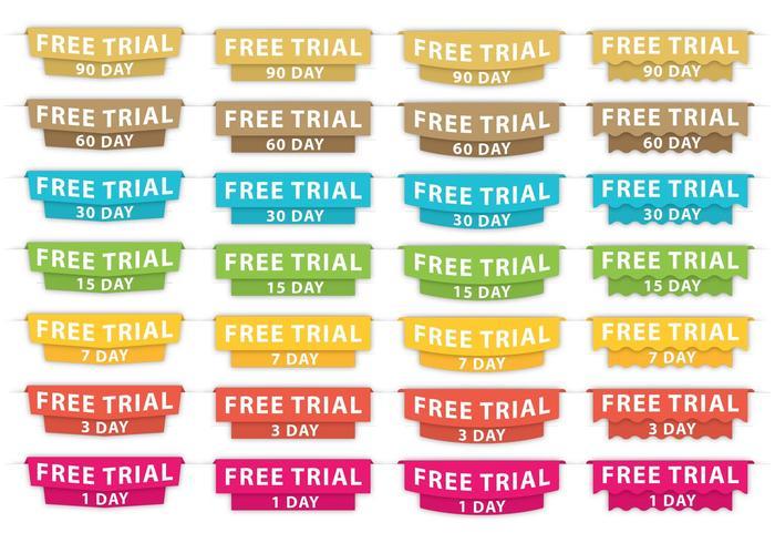 Gratis Trial Headers