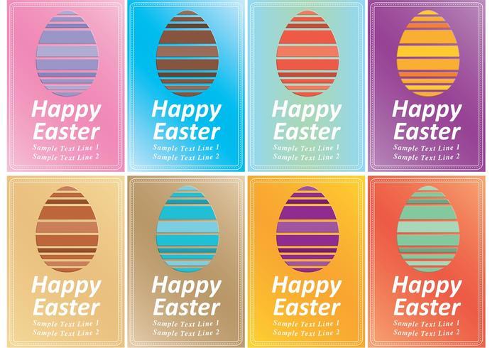 Easter Invitation Vectorss