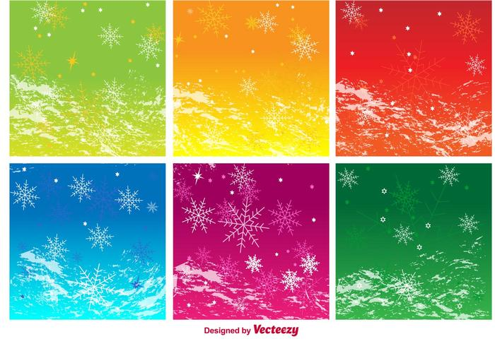 Seasonal Background Vectors