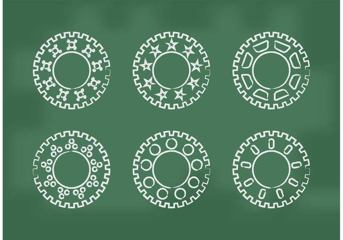 Bike Sprocket Vectors