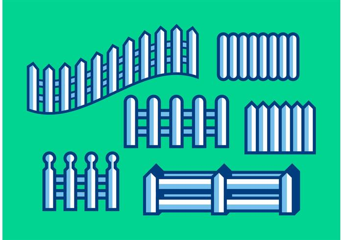Minimalistic Picket Fence Vectors