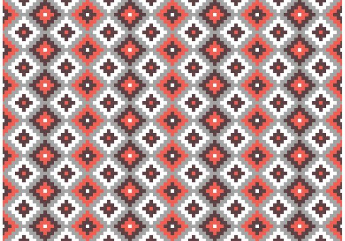Ursprünglicher Ziegelstein-Muster-Vektor der aztekischen Maya vektor