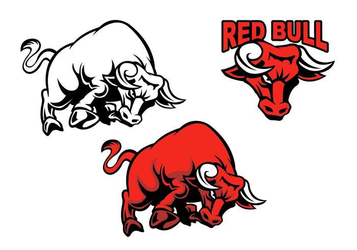 Charging Bull Vectors