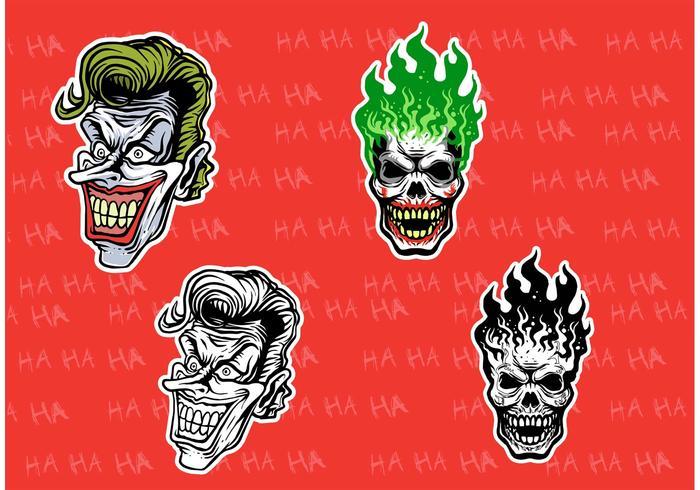 Evil Joker Vectores