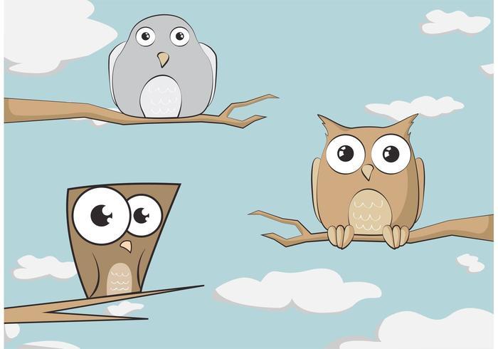 Illustration d'oiseaux vecteur libre