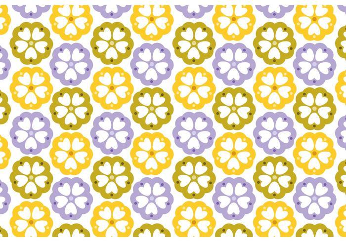 Floral Pattern Design Vectors