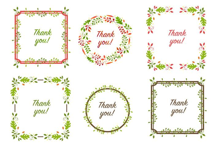 Thanksgiving Border Vectors
