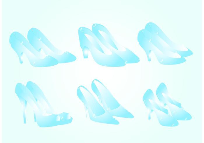 Glass Slipper Vectors