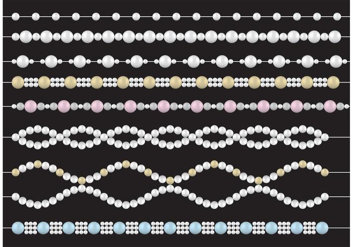 Pearl Necklace Vectors