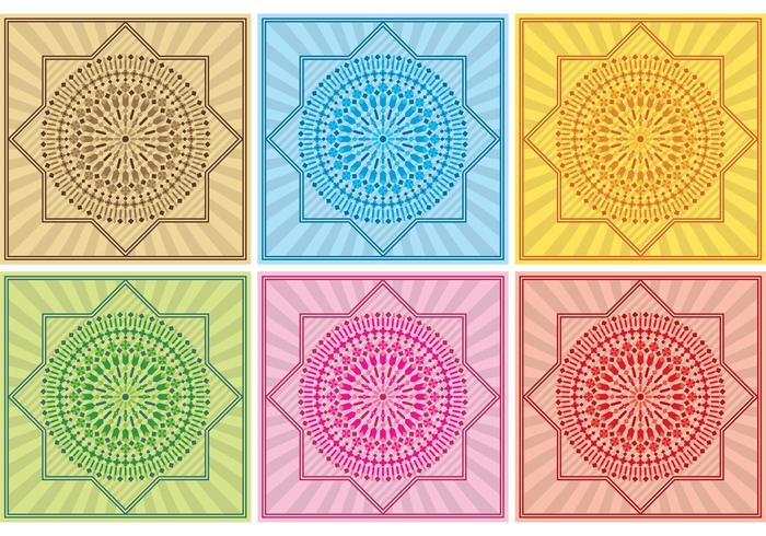 Marokko Hintergrund Vektor-Designs vektor