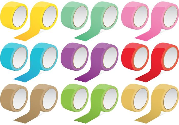 Colorful Tape Vectors
