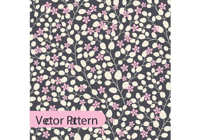 Boho Vector Floral Pattern Design