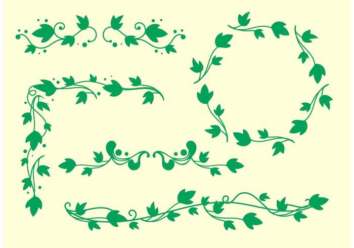 Simple Ivy Vine Vectors , Download Free Vectors, Clipart