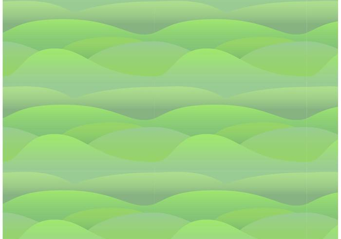 Seamless Rolling Hills Pattern