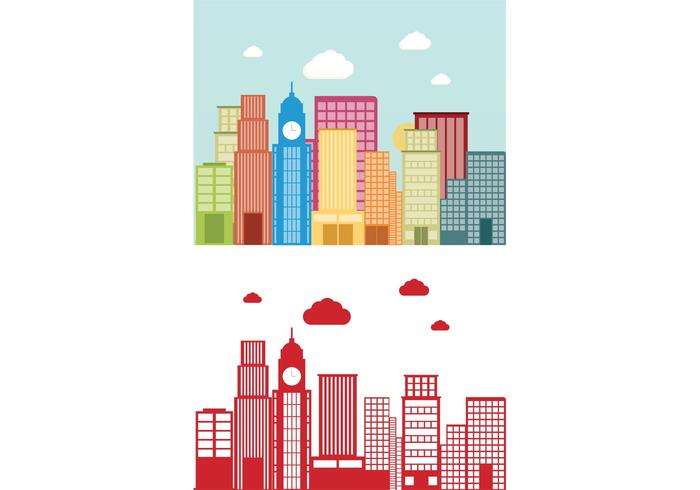 Building Vector Background