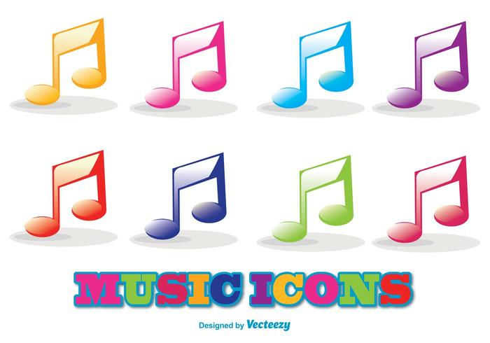 Vector Muziek Icon Set