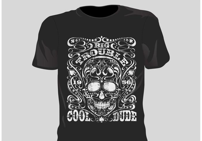 Free vector grunge t shirt design download free vector for T shirt design and printing online