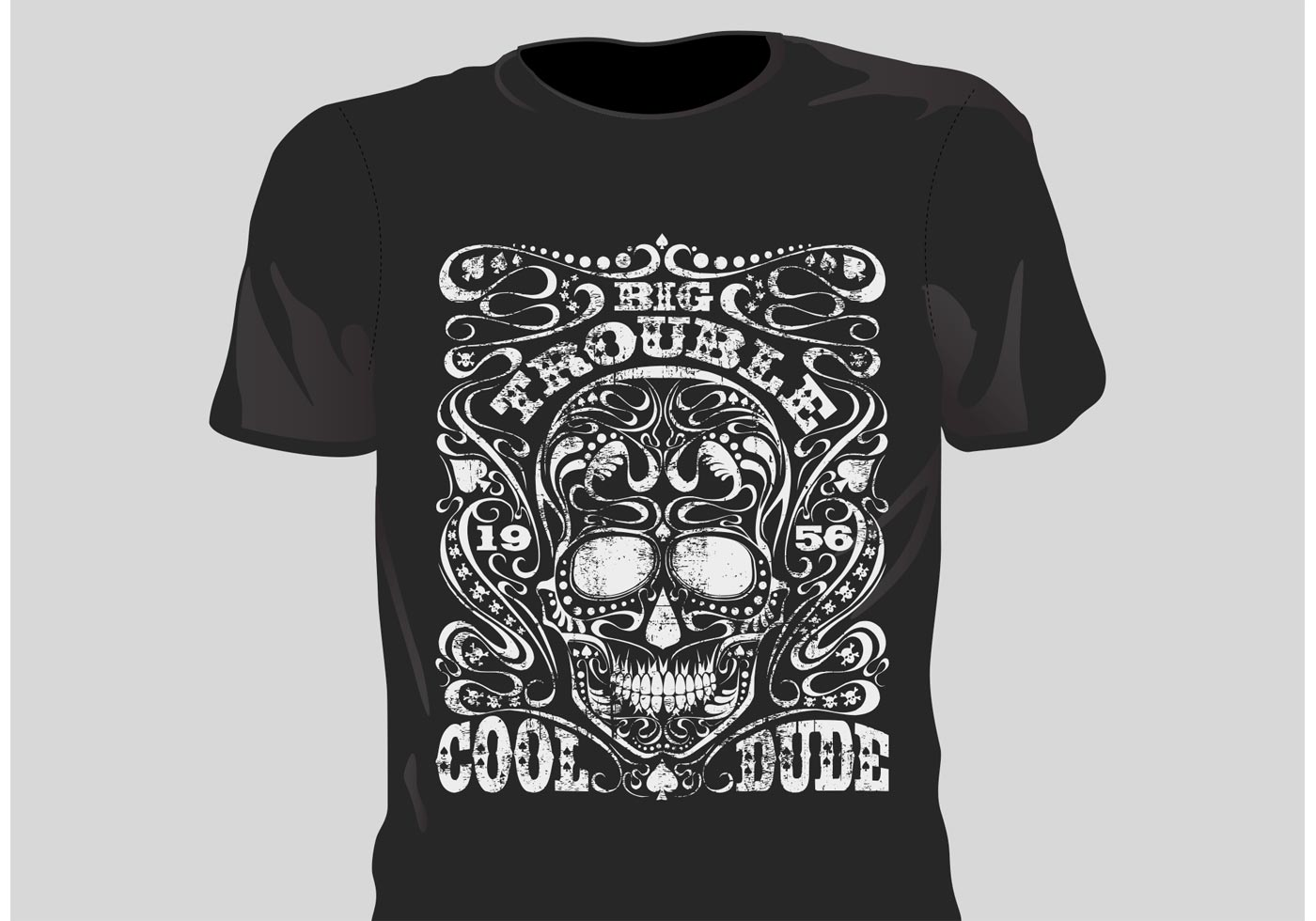 Free Grunge T Shirt Designs - Download Free Vector Art, Stock ...