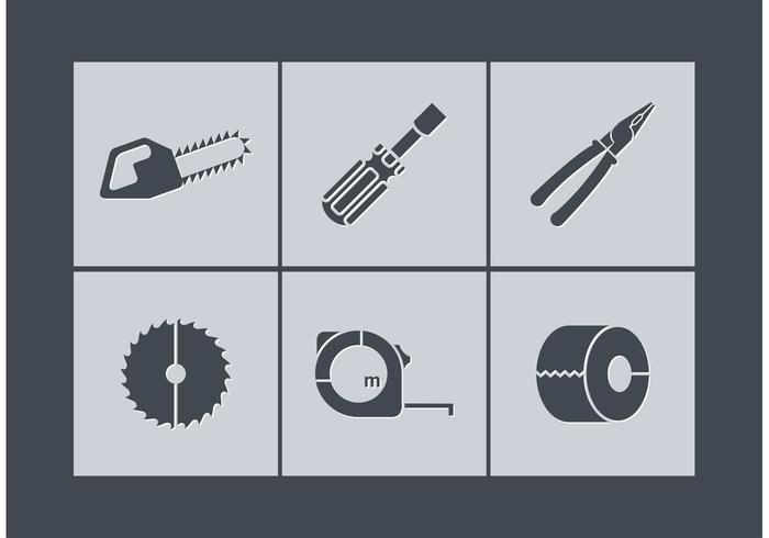 Free vector tools icons