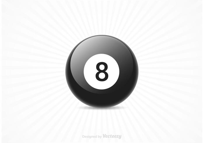 Gratis Magic 8 Ball Vector