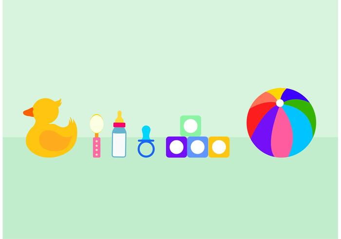 Fun Child Toy Vectors