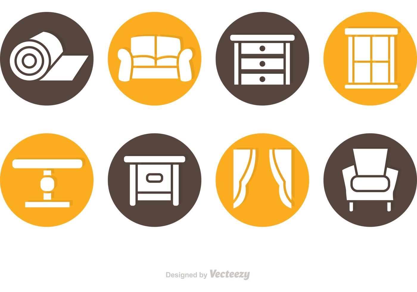 Circlular Home Interior Icon Vectors Download Free Home Decorators Catalog Best Ideas of Home Decor and Design [homedecoratorscatalog.us]