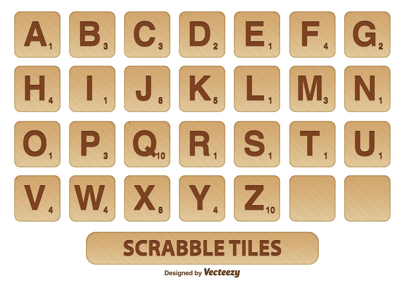 Scrabble Alphabet Royalty Free Stock Photo - Image: 8827575