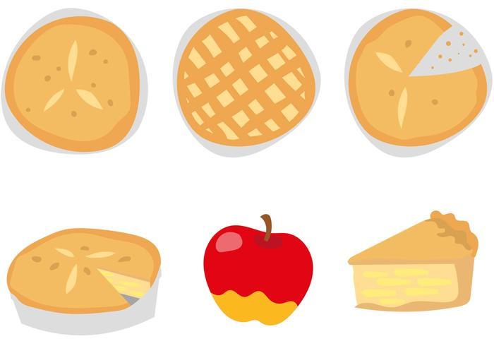 Läckra Apple Pie vektorer