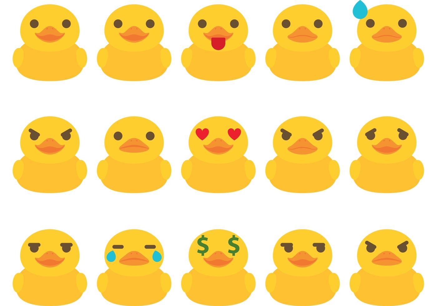 rubber duck free vector art 8132 free downloads