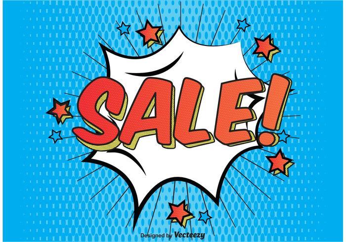 Fundo Comic Style Sale