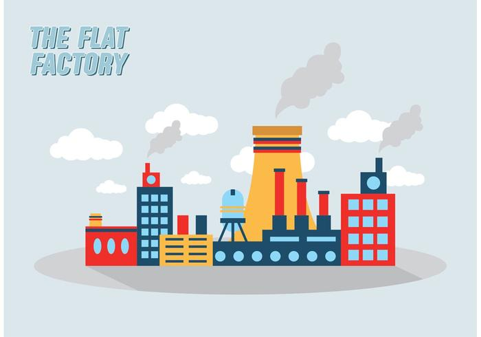 Factory Collection Vector Free Download Art