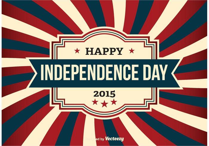 Día de la Independencia ilustración vectorial vector
