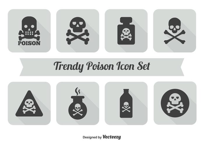 Poison Icon Set