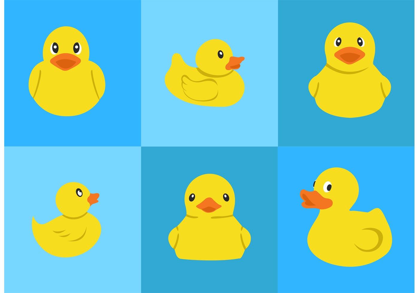 Rubber Duck Vectors Download Free Vector Art Stock