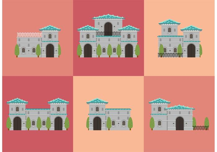 Mansion Vectors