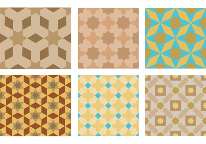 Morocco Motif Pattern Vectors