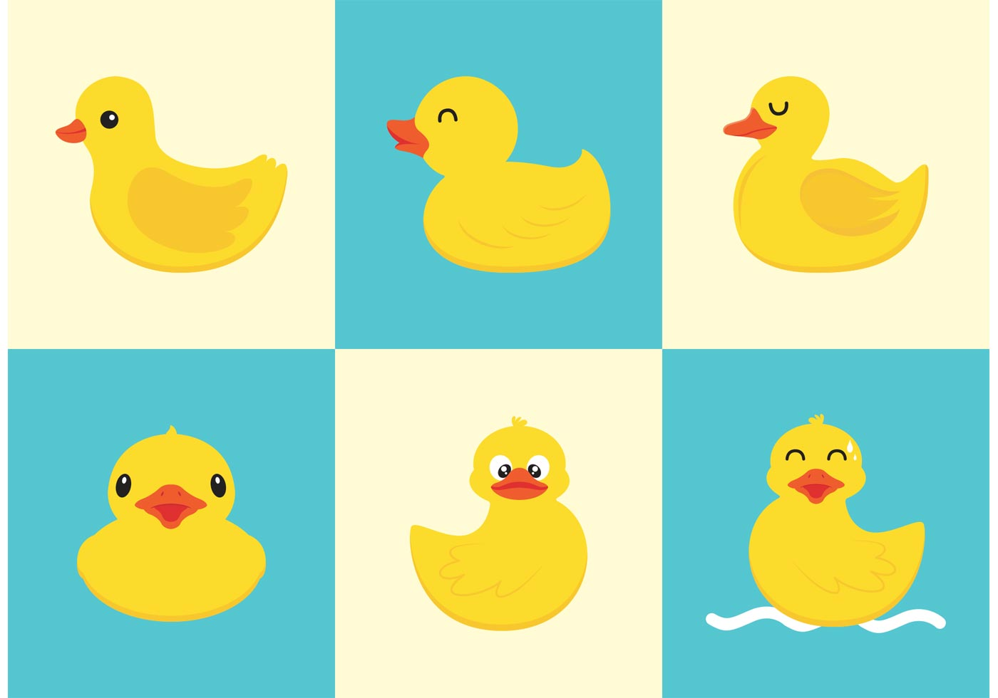 Rubber Duck Vector Free Download Free Vector Art Stock