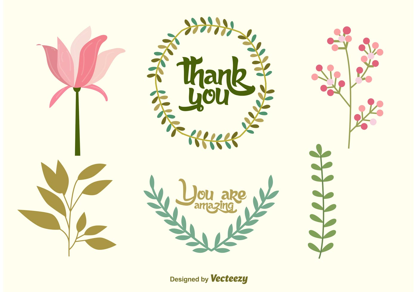 Wedding Floral Vector Decorations Download Free Vectors Clipart