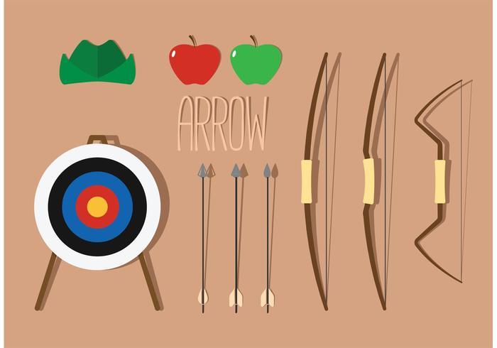 Compound Bow Vector Pack