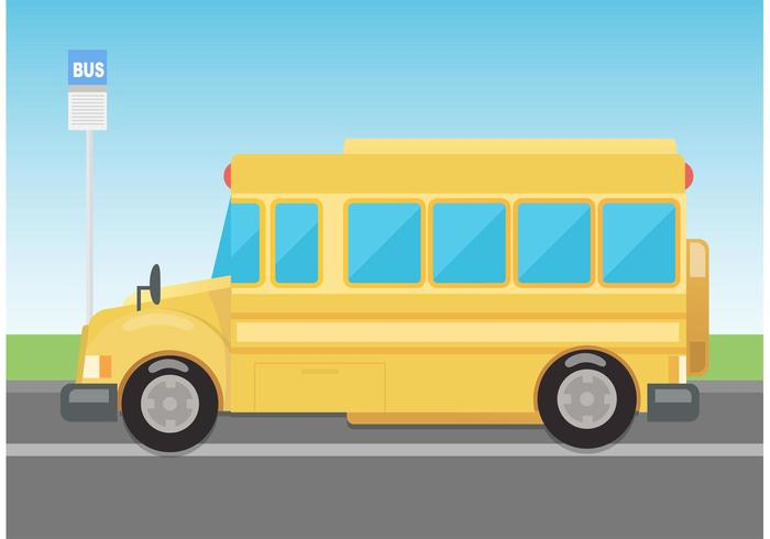 Free Vector School Bus