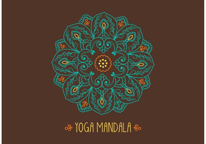 Free Ornamental Mandala Vector