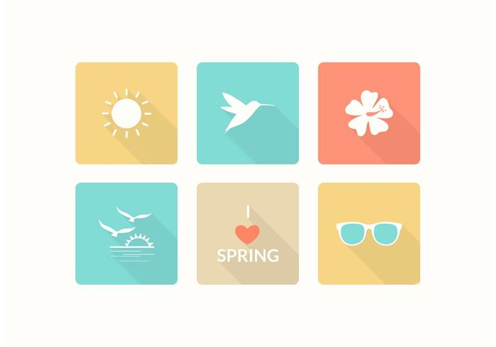 Free Spring Vector Icons