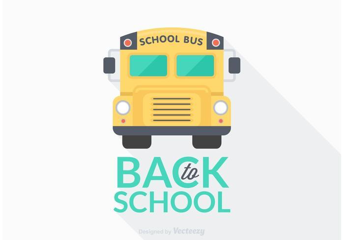 Free Back To School Vector Illustration