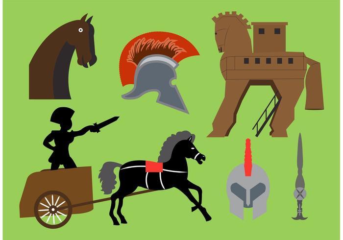 Elementos de vectores de caballo de Troya