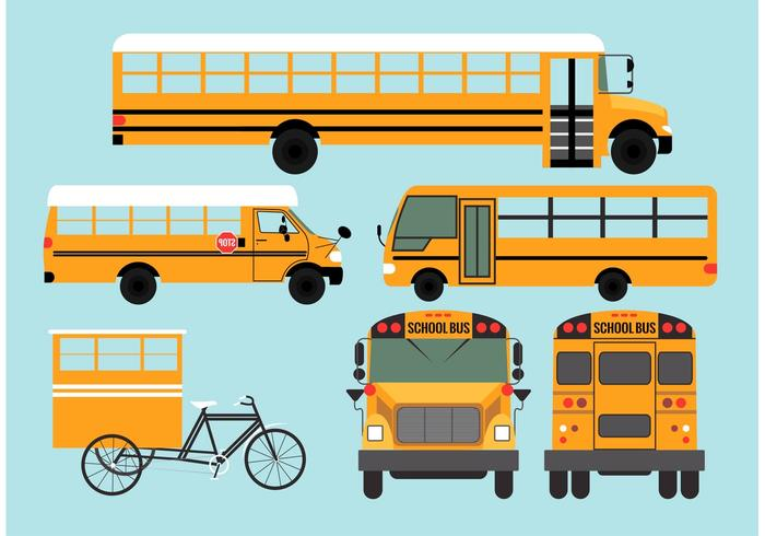 school bus vectors download free vector art stock graphics images rh vecteezy com school bus vector file school bus vector free
