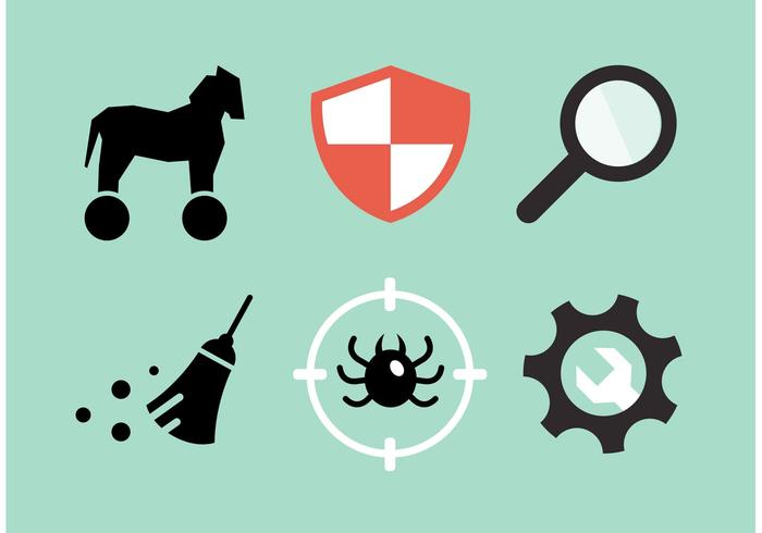 Computer Security Vector Icon Pack