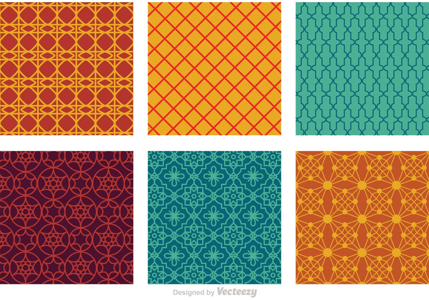 Morocco Seamless Vector Patterns Download Free Vector