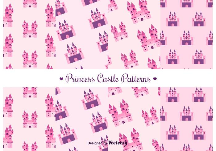 Free Princess Castle Vector Pattern