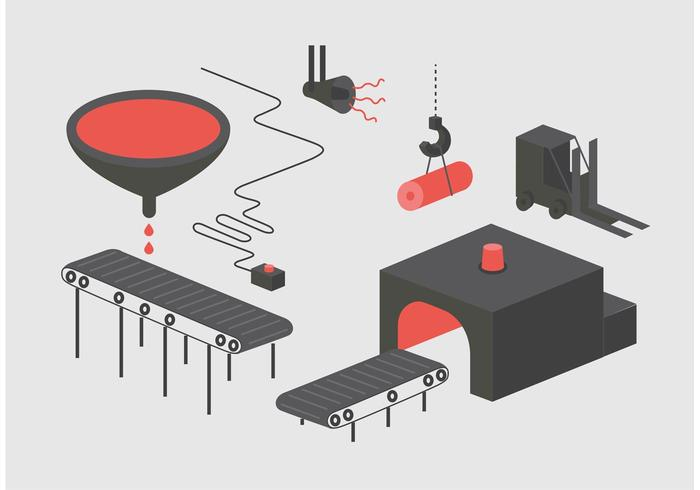 Factory Vector Illustration