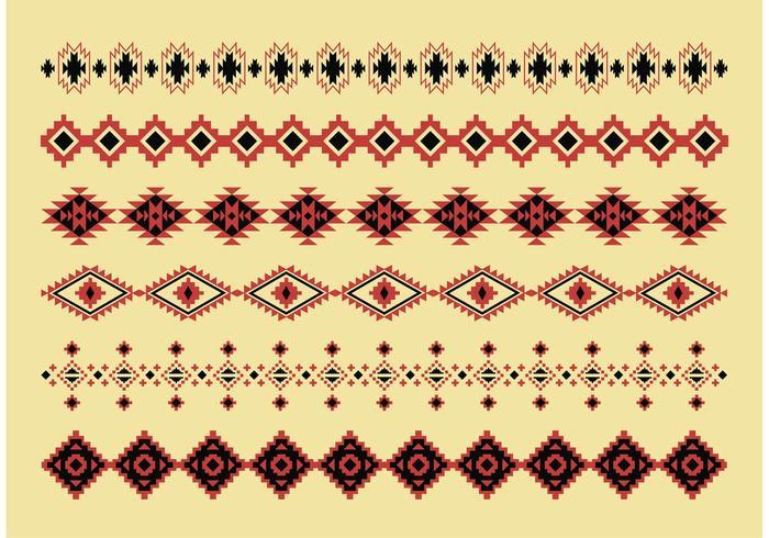 Native American Pattern Vectors